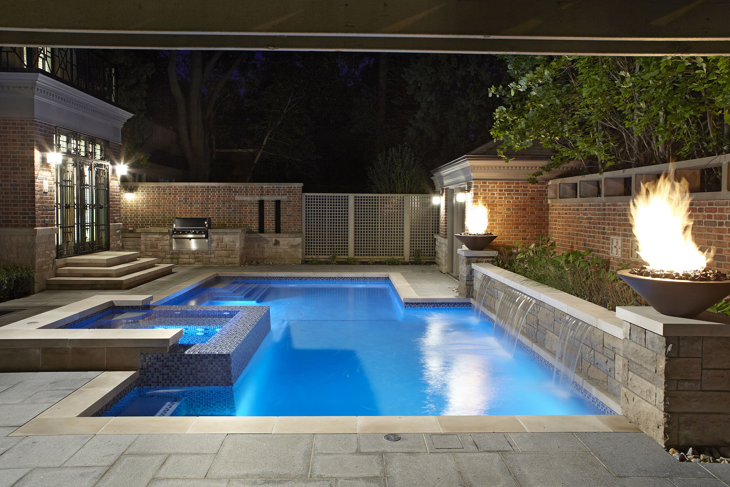 Backyard pool design for Pool design kitchener