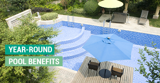 How to get the most out of your pool year round solda pools for Year round pool residential