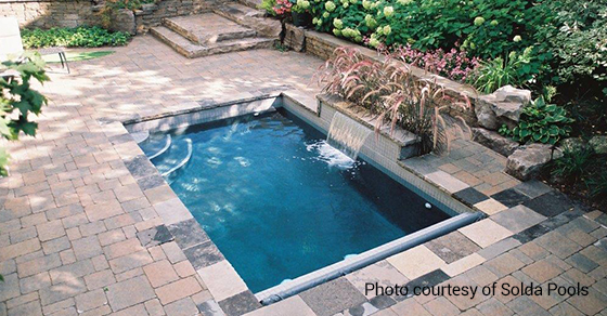 5 Small Pool Design Ideas | Solda Pools on natural pools in small back yard, small swimming pool designs for small yard, pools for your back yard, cool pools waterfall back yard, kidney-shaped pools small yard, natural swimming pool back yard, pools for small spaces back yard,
