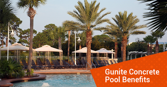 Gunite Concrete Pool Benefits