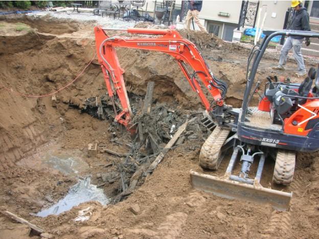 Layout & Excavation