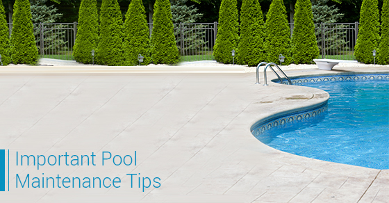 Important Pool Maintenance Tips
