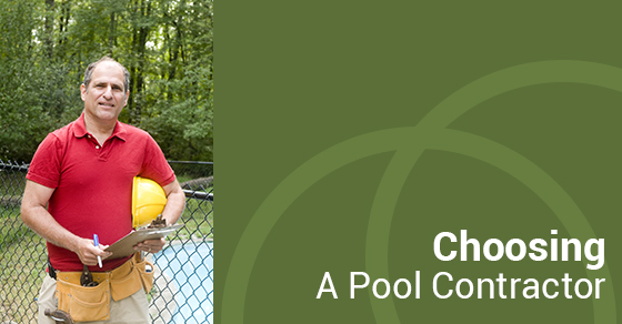 Choosing A Pool Contractor