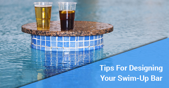 Tips For Designing Your Swim-Up Bar